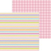 Easter Egg Stripe Paper - Hippity Hoppity - Doodlebug