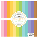 Spring Textured Cardstock Assortment Pack - Doodlebug