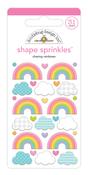 Chasing Rainbows Shape Sprinkles - Doodlebug