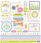 Fairy Garden This & That Sticker Sheet - Doodlebug