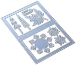 Snowy Windows Metal Die - Elizabeth Craft Designs - PRE ORDER