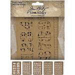"Idea-Ology Stencil Cards 5.375""X3.75"""