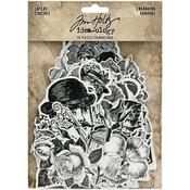 Engraving Idea-Ology Layers Die-Cuts - Tim Holtz
