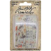 Floral Idea-Ology Linen Tape - Tim Holtz