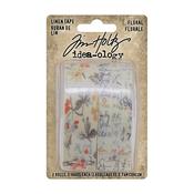 Floral Idea-Ology Linen Tape - Tim Holtz - PRE ORDER