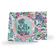 Dashed Circle Flip Card Dies - i-Crafter