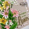 Heart Blooms Flip Card Dies - i-Crafter