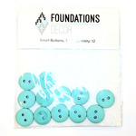 Small Teal Buttons - Foundations Decor