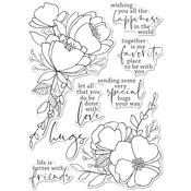 All The Happiness Clear Stamps - Memory Box - PRE ORDER