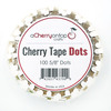 5/8 Inch Cherry Tape Dots - ACOT Double-Sided Adhesive Tape