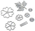 Florals 6 Metal Die - Elizabeth Craft Designs