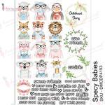 Specy Babies Transfer Me A4 Sheet - Dress My Craft