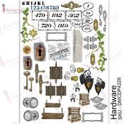Hardware Transfer Me A4 Sheet - Dress My Craft