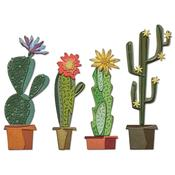 Funky Cactus Thinlits Die by Tim Holtz - Sizzix