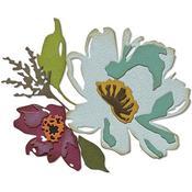 Brushstroke Flowers #3 Thinlits Dies by Tim Holtz - Sizzix