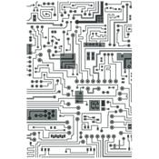 Circuit Multi-Level Textured Impressions Embossing Folder by Tim Holtz - Sizzix