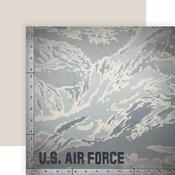 Camo Paper - Air Force - Paper House Productions