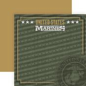 Emblem Paper - Marines - Paper House Productions