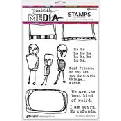 No Refunds Dina Wakley Media Cling Stamps - PRE ORDER
