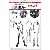 You Are The Universe Dina Wakley Media Cling Stamps - PRE ORDER