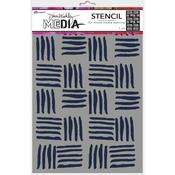 Cross Hatch Dina Wakley Media Stencils - PRE ORDER