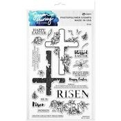 He Is Risen! Clear Stamps - Simon Hurley