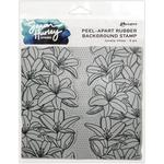 Lovely Lilies Cling Stamp - Simon Hurley