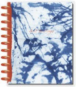 Indigo Big Notebook Dated Vertical Layout - The Happy Planner