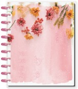 Pressed Florals Big Dated Vertical Layout - The Happy Planner