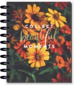 Moody Florals Big Dated Horizontal Layout - The Happy Planner