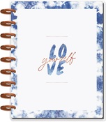 Indigo Classic Dated Dashboard Layout - The Happy Planner