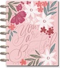 "Spring Garden Classic Dated Vertical Layout - The Happy Planner You are beautiful. This Classic size 18-month Happy Planner includes 18 dividers with floral graphic prints, themed quotes, and metallic foil accents. It comes in a vertical layout with daily boxes that have plenty of space for daily planning with additional room to add even more floral stickers to your monthly calendars and weekly spreads. It comes dated and runs from July 2021-December 2022.    Dated planner runs from July 2021-December 2022 and includes 18 dividers with floral prints, inspirational quotes and metallic foil accents  The Classic size is the perfect for everyday planning. It has plenty of space for daily planning and open areas to decorate monthly calendars and weekly spreads with themed stickers.  The vertical layout features daily boxed spaces that can be used as a timeline of daily plans or divided into sections like work life, home responsibilities, and personal appointments. Customize it to your planning needs!  Dimensions: 7.75"" x 9.75"""