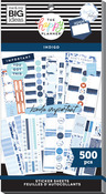 Indigo 30 Sheet Sticker Pad - The Happy Planner