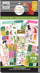 Jungle Vibes 30 Sheet Sticker Pad - The Happy Planner - PRE ORDER