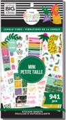 Jungle Vibes Mini 30 Sheet Sticker Pad - The Happy Planner