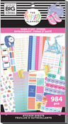 Work It Out 30 Sheet Sticker Pad - The Happy Planner