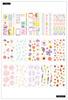 Pressed Florals 30 Sheet Sticker Pad - The Happy Planner