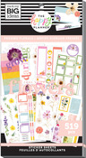 Pressed Florals 30 Sheet Sticker Pad - The Happy Planner