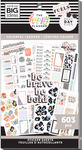 Colorful Leopard 30 Sheet Sticker Pad - The Happy Planner