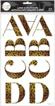 Cheetah Alpha Large Icon Stickers - The Happy Planner - PRE ORDER