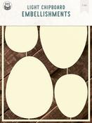 Easter Eggs 2 - P13 Light Chipboard Decoration Base