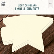 "Star - P13 Light Chipboard Album Base 6""X6"""