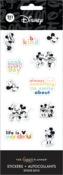 Disney © Colorblock Mickey Minnie 8 Sticker Sheets - The Happy Planner - PRE ORDER