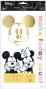 Disney © Colorblock Mickey Minnie Large Icons Stickers - The Happy Planner