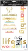 Disney © Colorblock Minnie Large Icons Stickers - The Happy Planner