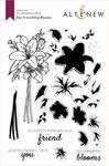 Our Friendship Blooms Stamp Set - Altenew