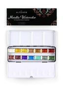 Metallic Watercolor 14 Pan Set - Altenew