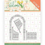Arch & Fence Die - Welcome Spring - Find It Trading