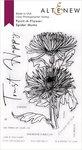Paint-A-Flower: Spider Mums Outline Stamp Set - Altenew