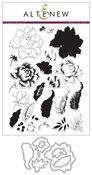 Peony Bouquet Stamp & Die Bundle - Altenew